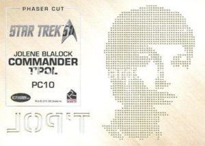 Star Trek 50th Anniversary Trading Card PC10 Back