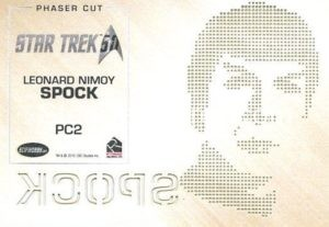 Star Trek 50th Anniversary Trading Card PC2 Back