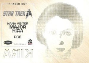 Star Trek 50th Anniversary Trading Card PC6 Back