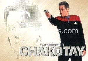Star Trek 50th Anniversary Trading Card PC8