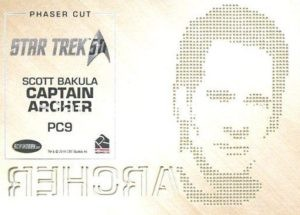 Star Trek 50th Anniversary Trading Card PC9 Back