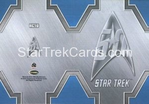Star Trek 50th Anniversary Trading Card RC10 Back