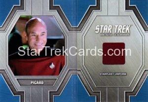 Star Trek 50th Anniversary Trading Card RC11 Red