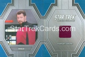 Star Trek 50th Anniversary Trading Card RC12