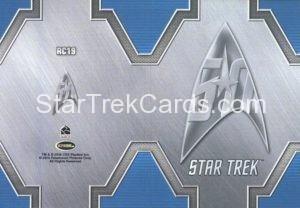 Star Trek 50th Anniversary Trading Card RC19 Back