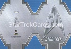 Star Trek 50th Anniversary Trading Card RC23 Back