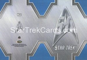 Star Trek 50th Anniversary Trading Card RC3 Back