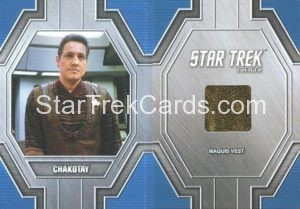 Star Trek 50th Anniversary Trading Card RC33