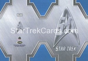 Star Trek 50th Anniversary Trading Card RC44 Back