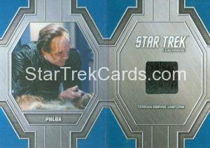 Star Trek 50th Anniversary Trading Card RC47