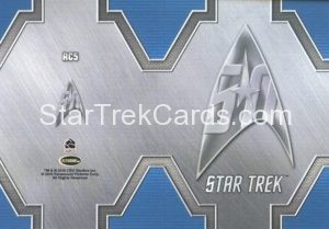 Star Trek 50th Anniversary Trading Card RC5 Back