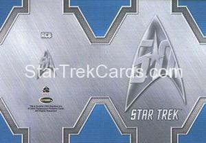 Star Trek 50th Anniversary Trading Card RC8 Back