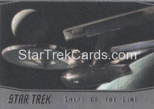 Star Trek 50th Anniversary Trading Card SL20