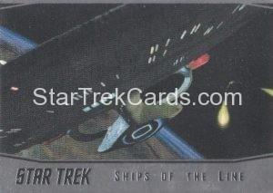 Star Trek 50th Anniversary Trading Card SL22