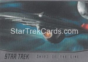 Star Trek 50th Anniversary Trading Card SL23
