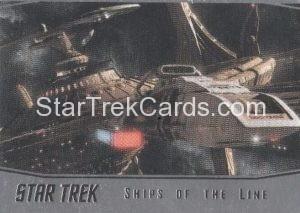 Star Trek 50th Anniversary Trading Card SL24