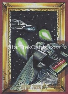 Star Trek 50th Anniversary Trading Card Sketch Achilleas Kokkinakis Alternate