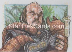 Star Trek 50th Anniversary Trading Card Sketch Bekah Adam Cleveland Alternate