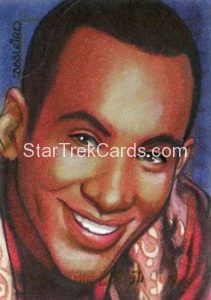 Star Trek 50th Anniversary Trading Card Sketch Carlos Cabalerio