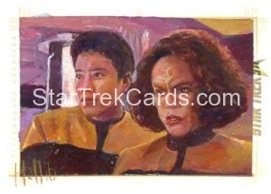 Star Trek 50th Anniversary Trading Card Sketch Charles Hall