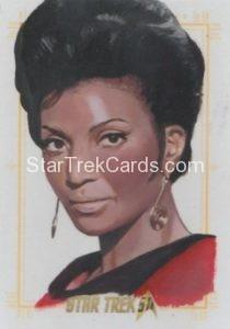 Star Trek 50th Anniversary Trading Card Sketch Kevin Graham Alternate