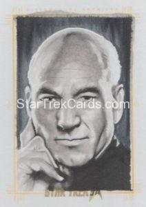 Star Trek 50th Anniversary Trading Card Sketch Kyle Babbitt