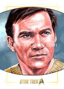 Star Trek 50th Anniversary Trading Card Sketch Mike James
