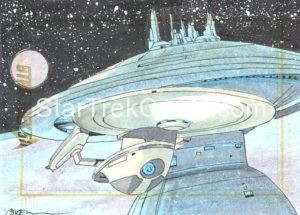Star Trek 50th Anniversary Trading Card Sketch Roy Cover