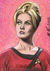 Star Trek 50th Anniversary Trading Card Sketch Scott Houseman