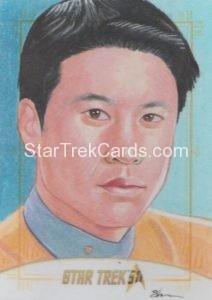 Star Trek 50th Anniversary Trading Card Sketch Shane McCormack Alternate