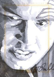 Star Trek 50th Anniversary Trading Card Sketch Tanner Padlo