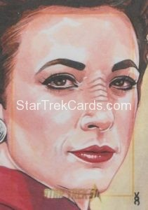 Star Trek 50th Anniversary Trading Card Sketch Veronica OConnell Alternate