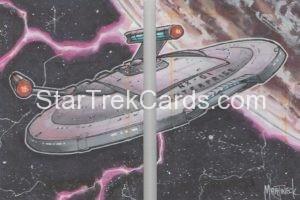 Star Trek 50th Anniversary Trading Card Sketch Warren Martineck Alternate