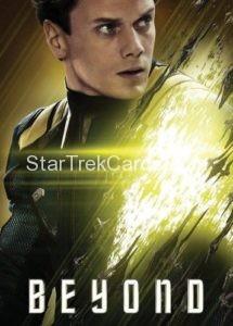 Star Trek Beyond Promo Set Trading Card Chekov Front