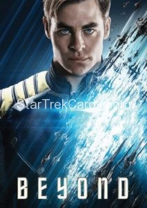 Star Trek Beyond Promo Set Trading Card Kirk Front