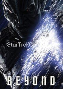 Star Trek Beyond Promo Set Trading Card Krall Front