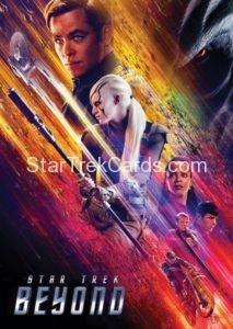 Star Trek Beyond Promo Set Trading Card Promotional Kirk Jaylah Uhura Spock Scotty Front