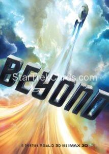 Star Trek Beyond Promo Set Trading Card Promotional USS Enterprise Front