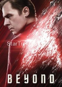 Star Trek Beyond Promo Set Trading Card Scotty Front