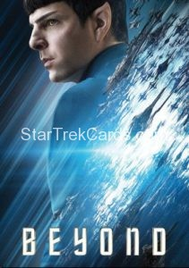 Star Trek Beyond Promo Set Trading Card Spock Front