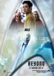 Star Trek Beyond Promo Set Trading Card Sulu Back