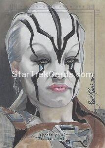 Star Trek Beyond Trading Card Sketch Scott Rorie 2