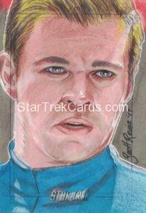 Star Trek Beyond Trading Card Sketch Scott Rorie
