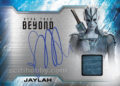 Star Trek Beyond Trading Card Sofia Boutella Autograph Relic Card