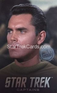 Star Trek Captains Arcade Set Trading Card Captain Pike