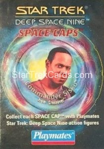 Star Trek DS9 Playmates Action Figure Space Caps Trading Card 13