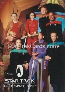 Star Trek Fan Club Trading Card Star Trek Deep Space Nine Cast