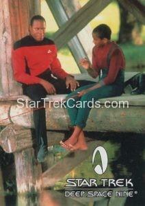 Star Trek Fan Club Trading Card Star Trek Deep Space Nine Sisko Jake