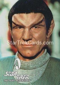 Star Trek Fan Club Trading Card Star Trek The Next Generation Picard