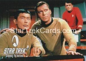 Star Trek Fan Club Trading Card Star Trek The Original Series Kirk Sulu